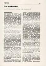 Brief aus England 12/1977