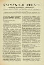 Galvano-Referate 01/1972