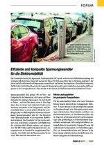 Effiziente und kompakte Spannungswandler  für die Elektromobilität