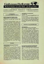 Galvano-Referate 12/1977