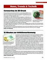 News, Trends & Technik – Medizintechnik 09/2020