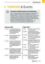 Tagungen / Fachmessen / Weiterbildungen 02/2021