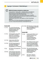 Tagungen / Fachmessen / Weiterbildungen 11/2020