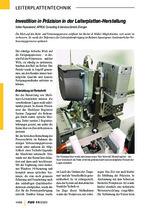 Investition in Präzision in der Leiterplatten-Herstellung