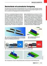 Steckverbinder mit automatischer Verriegelung