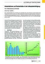 Kostenfaktoren und Kostentreiber in der Leiterplattenfertigung