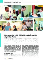 Expertenseminar erörtert Digitalisierung der Produktion als primäres Thema