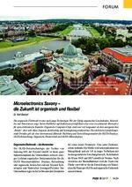 Microelectronics Saxony –die Zukunft ist organisch und flexibel