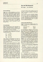 Aus der Betriebspraxis 02/1972