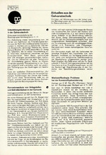 Aktuelles aus der Galvanotechnik 02/1972