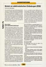 Schutz vorelektrostatischen Entladungen (ESD)