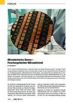 Microelectronics Saxony – Forschungsfabriken Mikroelektronik