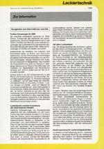 Zur Info - Lackiertechnik 07/2000