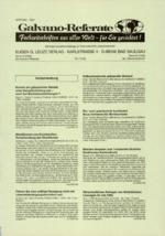 Galvano-Referate 07/2000
