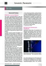 Zur Info - Dünnschicht- und Plasmatechnik 10/2017