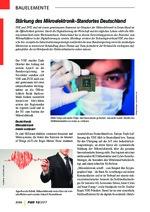 Stärkung des Mikroelektronik-Standortes Deutschland