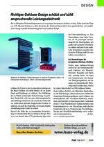 Richtiges Gehäuse-Design schützt und kühlt anspruchsvolle Leistungselektronik