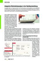 Integrierte Sicherheitsanalyse in der Geräteentwicklung