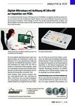 Digitale Mikroskope mit Auflösung 4K Ultra-HD zur Inspektion von PCBs