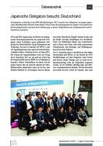 Japanische Delegation besucht Deutschland