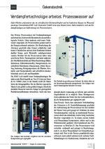 Verdampfertechnologie arbeitet Prozesswasser auf