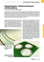 Spezialanfertigungen – Markttrend Hochfrequenz und Wärmeableitung