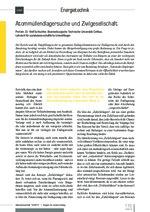 Atommüllendlagersuche und Zivilgesellschaft