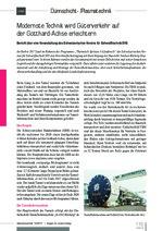 Modernste Technik wird Güterverkehr auf der Gotthard-Achse erleichtern