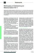 Marktzugang und Überwachung von Medizinprodukten (Teil 1)