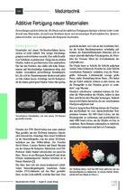 Additive Fertigung neuer Materialien