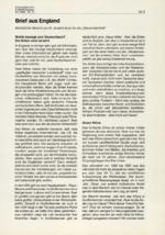Brief aus England 12/1999