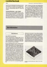 Zur Info - Lackiertechnik 12/1999
