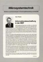 Informationsbeschaffung in der MST