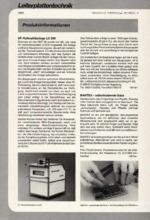 Zur Info - Leiterplattentechnik 10/1996