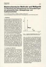 Elektrochemische Methode und Meßgerät