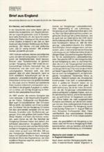 Brief aus England 11/1996