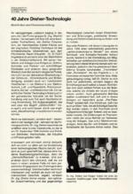 40 Jahre Dreher-Technologie