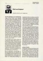Brief aus England 02/2001