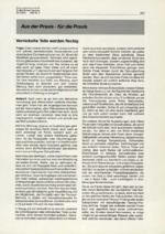 Aus der Praxis – für die Praxis 02/2001