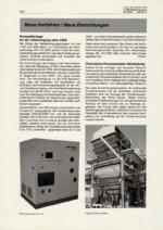 Neue Verfahren – Neue Einrichtungen 02/2001