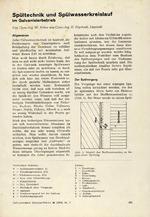 Spültechnik und Spülwasserkreislauf im Galvanisierbetrieb