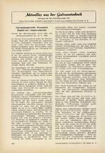 Aktuelles aus der Galvanotechnik 08/1964