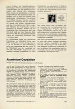 Aluminium-Oxydation