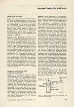 Aus der Praxis – für die Praxis 07/1967
