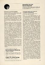 Aktuelles aus der Galvanotechnik 07/1967