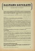 Galvano-Referate 08/1964