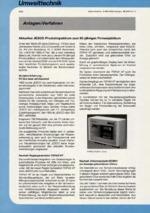 Anlagen/Verfahren 02/2001