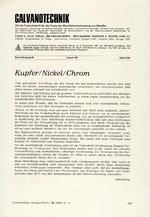 Kupfer/Nickel/Chrom