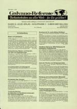 Galvano-Referate 02/2001