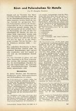 Bürst- und Polierscheiben für Metalle